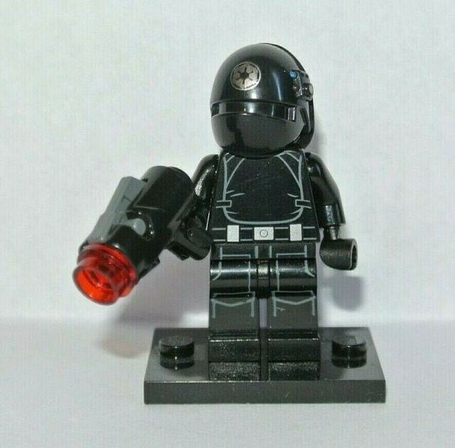 Lego Star Wars 75034 Figurine Imperial Gunner /& Blaster Mini-fig