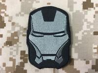 Warrior Iron Man Patch Wr-pt07