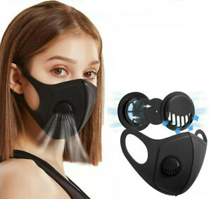 Face-Mask-Covering-Washable-Reusable-Air-Vent-Nose-Mouth-Easy-Breathe-UK-Lot