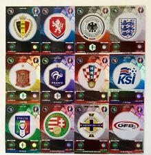 PANINI ADRENALYN XL _ euro 2016 France _ team logo/Eleven/history/Passion _ 2 carte