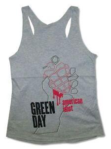 Tshirt XL Charcoal Grey Ladies Green Day American Idiot Vintage T-shirt