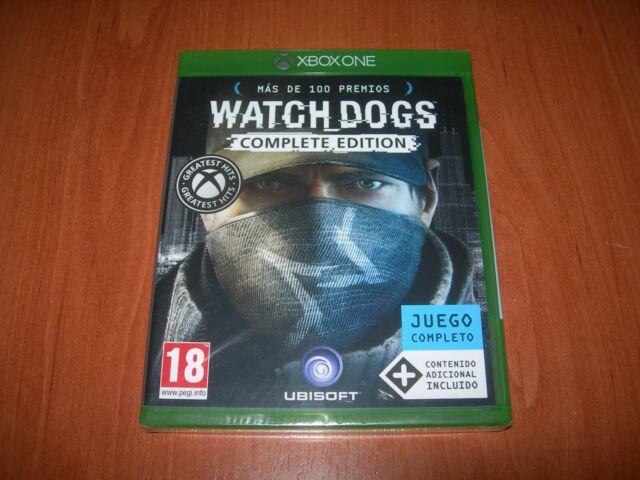 WATCH DOGS COMPLETE EDITION XBOX ONE (EDICIÓN ESPAÑOLA PRECINTADO)