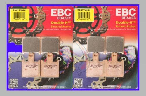 EBC HH Front and Rear Brake Pads 2007 2008 Kawasaki Z1000 FA417//4HH FA174HH