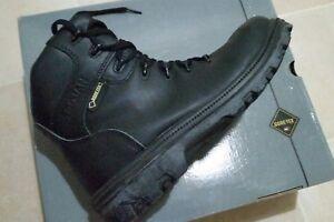 Botas-De-Hombre-Gore-Tex-Leat-vibrante-Caminata-Trek-41EU-7-Reino-Unido-Seguridad-Impermeable