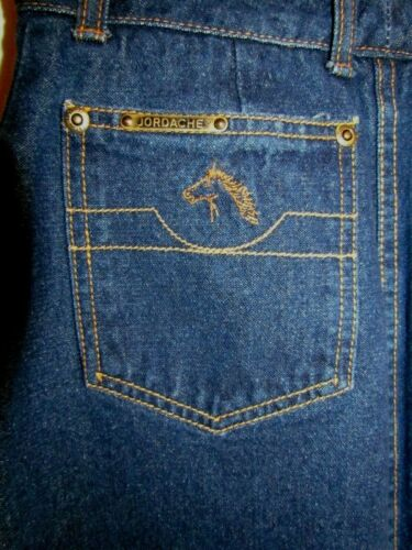 Jordache Vintage Vtg 80s Denim Jeans Horse Head Hi