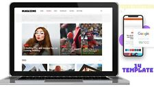 News And Magazine Andblog Website For Sale Onlinebusiness Free Hosting