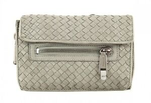Marc-O-Polo-Borsa-A-Tracolla-Woven-Crossbody-S-Light-Grey