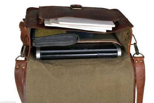 en pour à bandoulière portable Business 16 homme '' Messenger pour ordinateur Sac cuir trsdhQCx