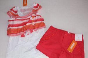 New Gymboree Sunset Brushstroke Shorts 5 year NWT Desert Dreams Adjustable Waist