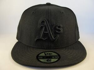 089dc84e04b0a Oakland Athletics MLB New Era 59FIFTY Fitted Cap Hat Size 6 7 8 ...