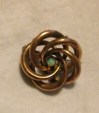 Vintage, antique, victorian, edwardian small rose gold with opal pin brooche
