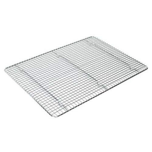 Thunder Group SLWG1216 12x16.2-Inch Icing//Cooling Rack With Built-In Feet Chro