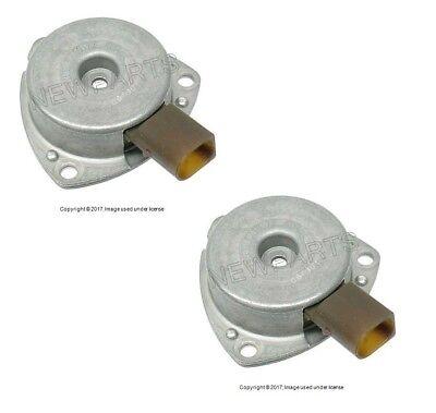 Seals Mercedes W203 C230 03-05 Set of 2 OEM Camshaft Adjuster Magnets Plugs