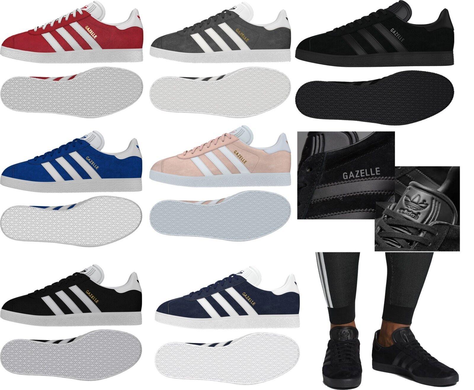 893692d70abc92 Adidas New Femme's Gazelle OG OG OG Original En Cuir et Daim Baskets  nouvelle collection 2018   Conception Habile 1feee1