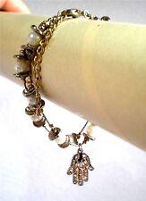 "Handmade Hamsa The Hand of Fatima Bracelet  6"" Long to 8"" Long"