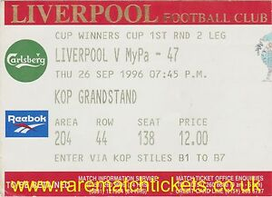 original 199697 cwc r1 2nd LIVERPOOL MYPA47 kop ticket - <span itemprop='availableAtOrFrom'>Birmingham, United Kingdom</span> - original 199697 cwc r1 2nd LIVERPOOL MYPA47 kop ticket - Birmingham, United Kingdom