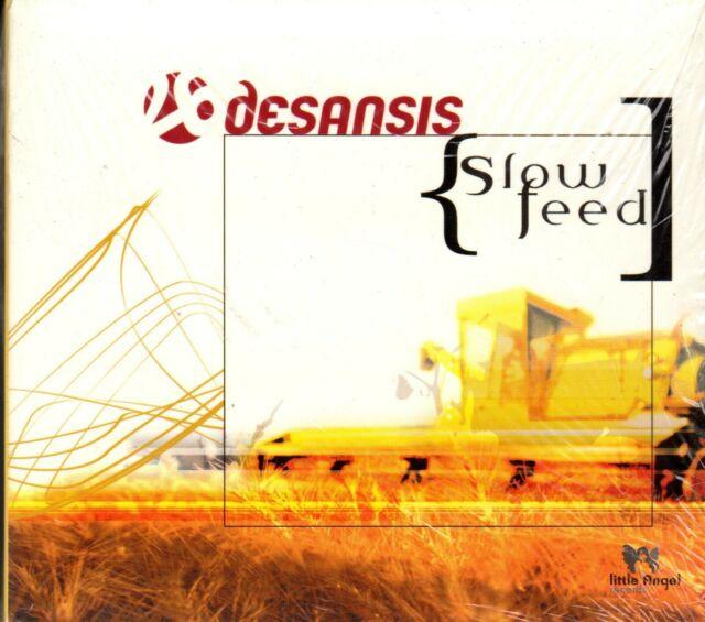 DESANSIS. SLOW FEED.  BRAND NEW CD ALBUM.