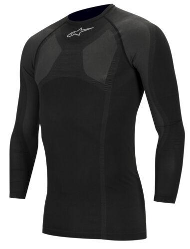 Alpinestars KX Long Sleeve Top Black Polypropylene Fabric