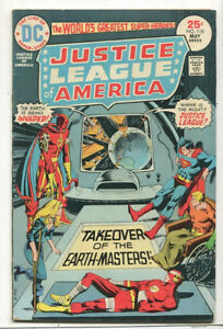 Justice-League-Of-America-118-VG-FN-Takeover-Of-The-Earth-Masters-DC-CBX1R