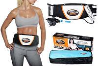 Heat Vibro Slimming Shape Toning Vibration Belt Tummy Body Massage Massager