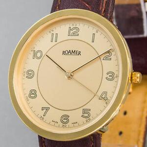 Herren-Damen-Armbanduhr-Roamer-Quarz-Neuzustand-NOS-ungetragen