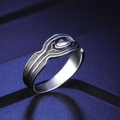 Black Panther 925 Sterling Silver Ring Wakanda King Ring TChalla Cosplay Ring