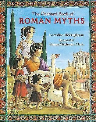1 of 1 - The Orchard Book of Roman Myths, Good Condition Book, Geraldine McCaughrean, ISB