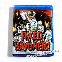 Fixed Bayonets Blu Ray Richard Basehart Gene Evans Michael O'shea