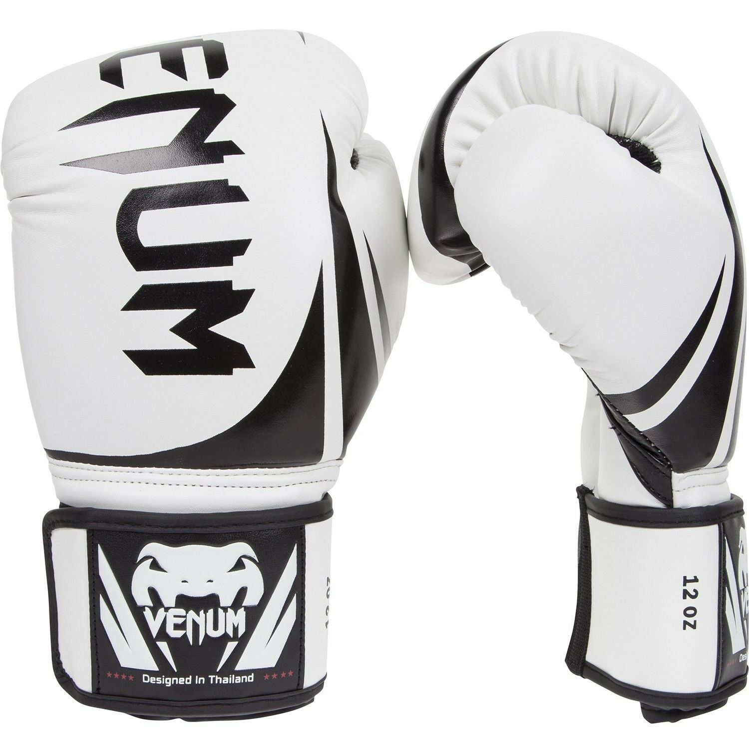 Venum Challenger 2.0 Boxing Gloves Weiß Thai Ice MMA Sparring Muay Thai Weiß Gloves 10oz b142a7