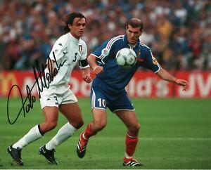 PAOLO-MALDINI-Foto-Autografata-Autografo-Soccer-Coa-Signed-Sport-Milan-with-COA
