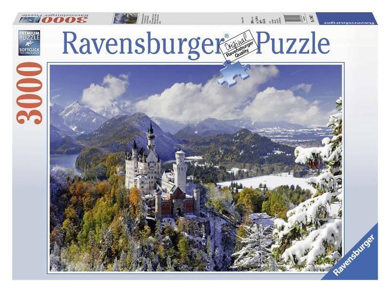 RAVENSBURGER Pièces Puzzle 3000 Neuschwanstein Puzzle En hiver 704