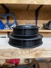 23 2300 4 Cyl Cylinder Water Pump Dual Serp Belt Pulley E7se 8509 Aa