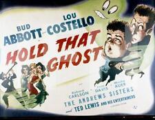 8x10 Print Abbott & Costello Hold That Ghost #3752