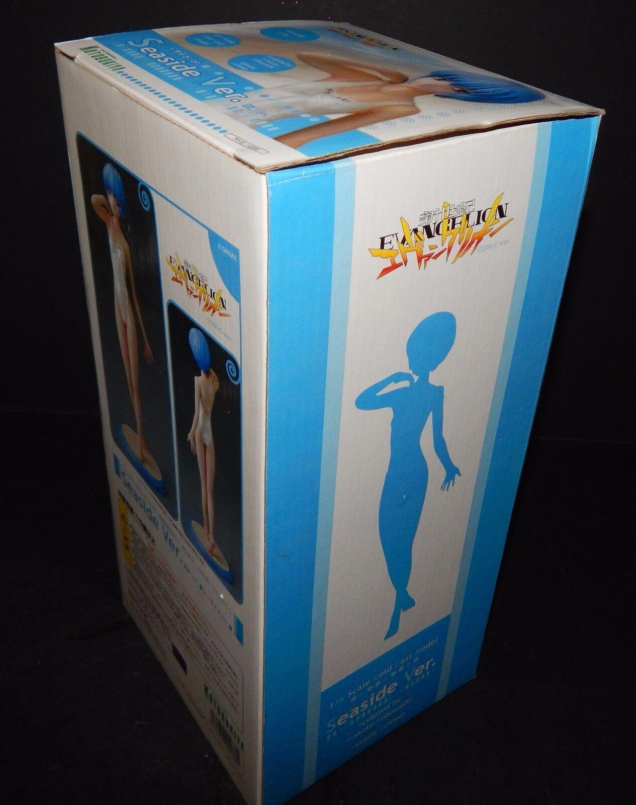 Evangelion Ayanami Rei Seaside Ver. 1/6 Scale Figure Kotobukiya Kotobukiya Kotobukiya Box Anime Statue f5c886
