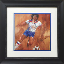 "LeRoy Neiman ""Kevin Keegan"" CUSTOM FRAMED ART PRINT Soccer football UK Liverpool"