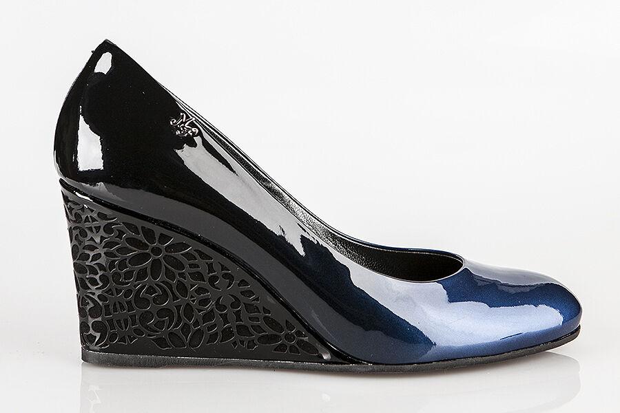 Auténtico Marino Marino Marino Fabiani Diseñador Italiano Zapatos Tallas 6,7,8,9,10,11 Azul  alta calidad y envío rápido