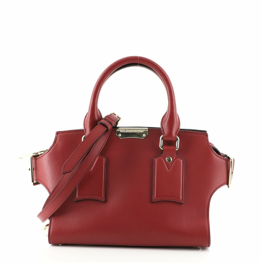 Burberry Clifton Convertible Tote Leather Small  | eBay