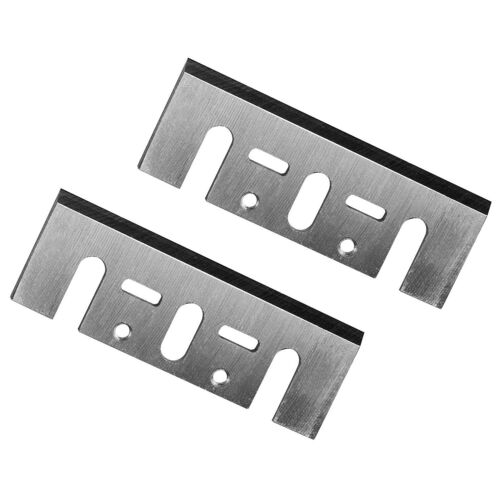 HSS Planer Blades fit for Makita 1900B Bosch Machine 82mm 2pcs 3-1//4/""