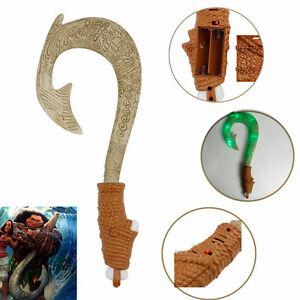 New maui light up sound fish hook moana waialiki maui for Disney s moana maui s magical fish hook