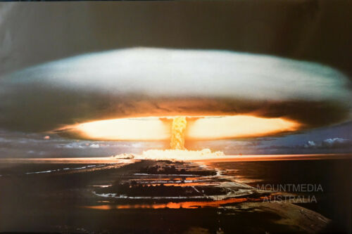 HYDROGEN BOMB 1974 POSTER 61X91CM NEW LICENSED ART