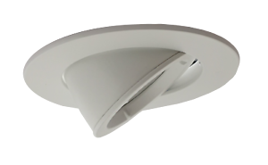 new product 8e6e8 3e791 Details about Large GU10 Scoop Tilt Directional Recessed Ceiling Led  Spotlight Downlights