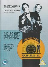 THE MAN FROM U.N.C.L.E. - 5 Films. Robert Vaughn, David McCallum (3xDVD BOX SET