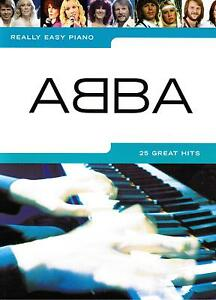 Klavier-Noten-ABBA-25-Great-Hits-Really-Easy-Piano-leicht-AM980430