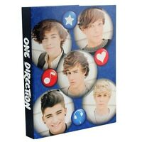 One Direction 2 'Crush' A4 Ringbinder Folder Stationery Brand New Gift