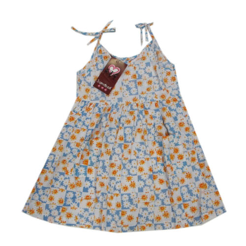 Sandsoil Kleider Kleid ärmellos Trägerkleid Gr,98