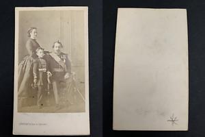 Levitsky, Paris, Napoléon III, l'impératrice Eugénie et leur fils le prince