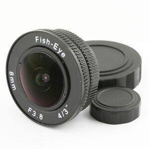 8mm-f-3-8-CCTV-C-Mount-Fisheye-CCTV-Objektiv-koerper-fuer-4-3-034-Kamera-Micro-M4-3