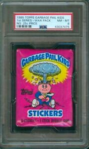 1985-Topps-GARBAGE-PAIL-KIDS-Series-1-RARE-Unopened-Wax-Pack-PSA-8