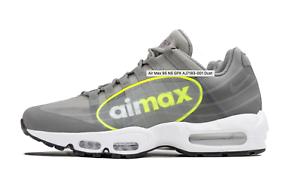 Nike Air Max 95 NS GPX AJ7183 001 Dust Grey Volt Big Logo Men Sz 8 -13