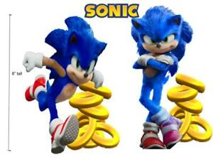 Sonic The Hedgehog Party Supplies Cupcake Toppers 2 Party Favors Decorations Ebay